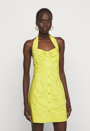 INNOCENTE ABITO POPELINE PESANTE - Day dress - yellow