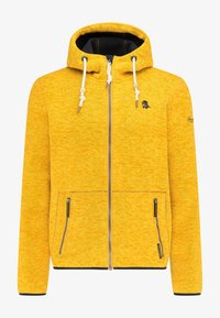 Schmuddelwedda - Fleece jacket - senf melange - 4