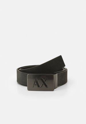 BELT - Cintura - dark gray/black