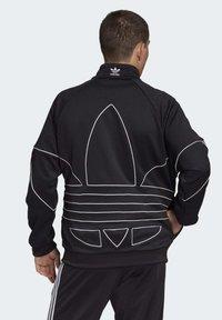 adidas Originals - BIG TREFOIL OUTLINE TRACK TOP - Training jacket - black - 1