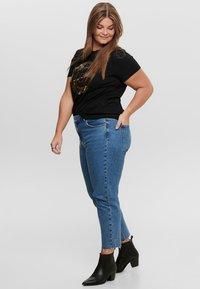 ONLY Carmakoma - CURVY  - Slim fit jeans - dark blue denim - 1