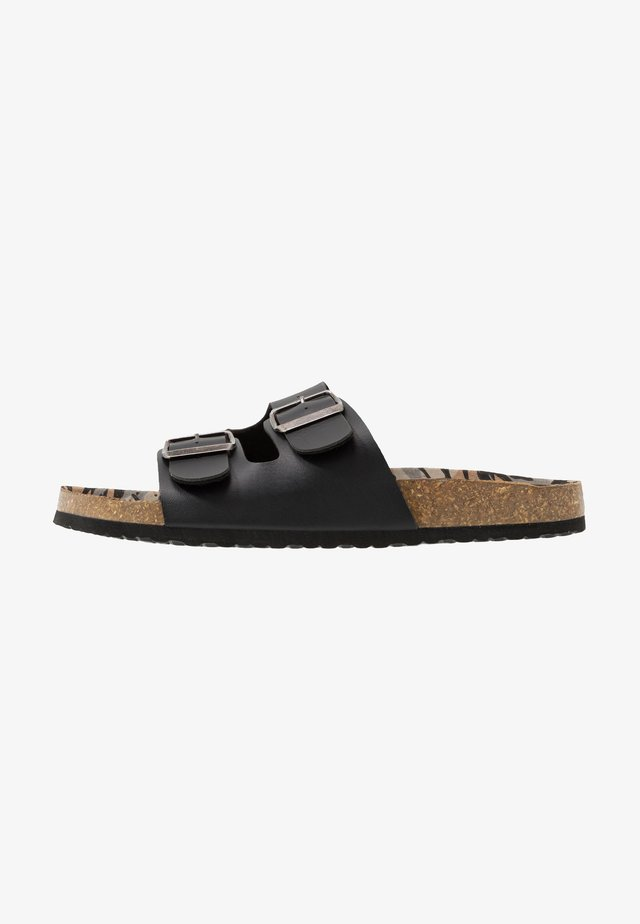 FOOTWEAR - Pantofole - black