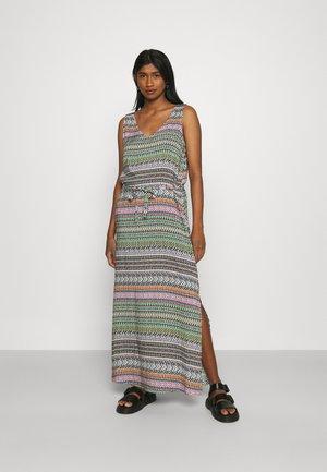 JDYSTAAR LIFE DRESS  - Maxi dress - cloud dancer/multicolor aztec