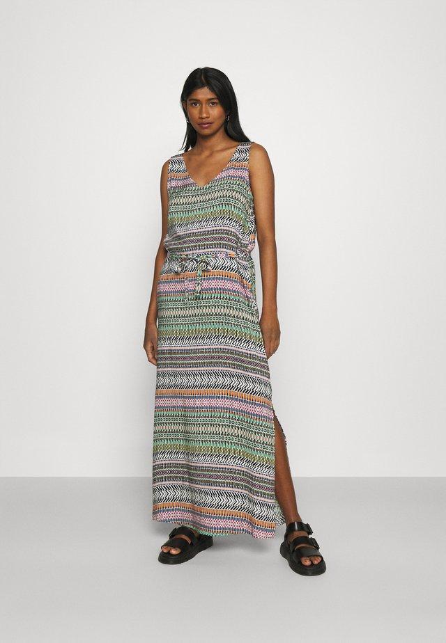 JDYSTAAR LIFE DRESS  - Maxi šaty - cloud dancer/multicolor aztec
