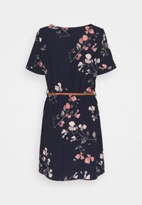Vero Moda - VMANNIE BELT SHORT DRESS - Day dress - night sky - 1