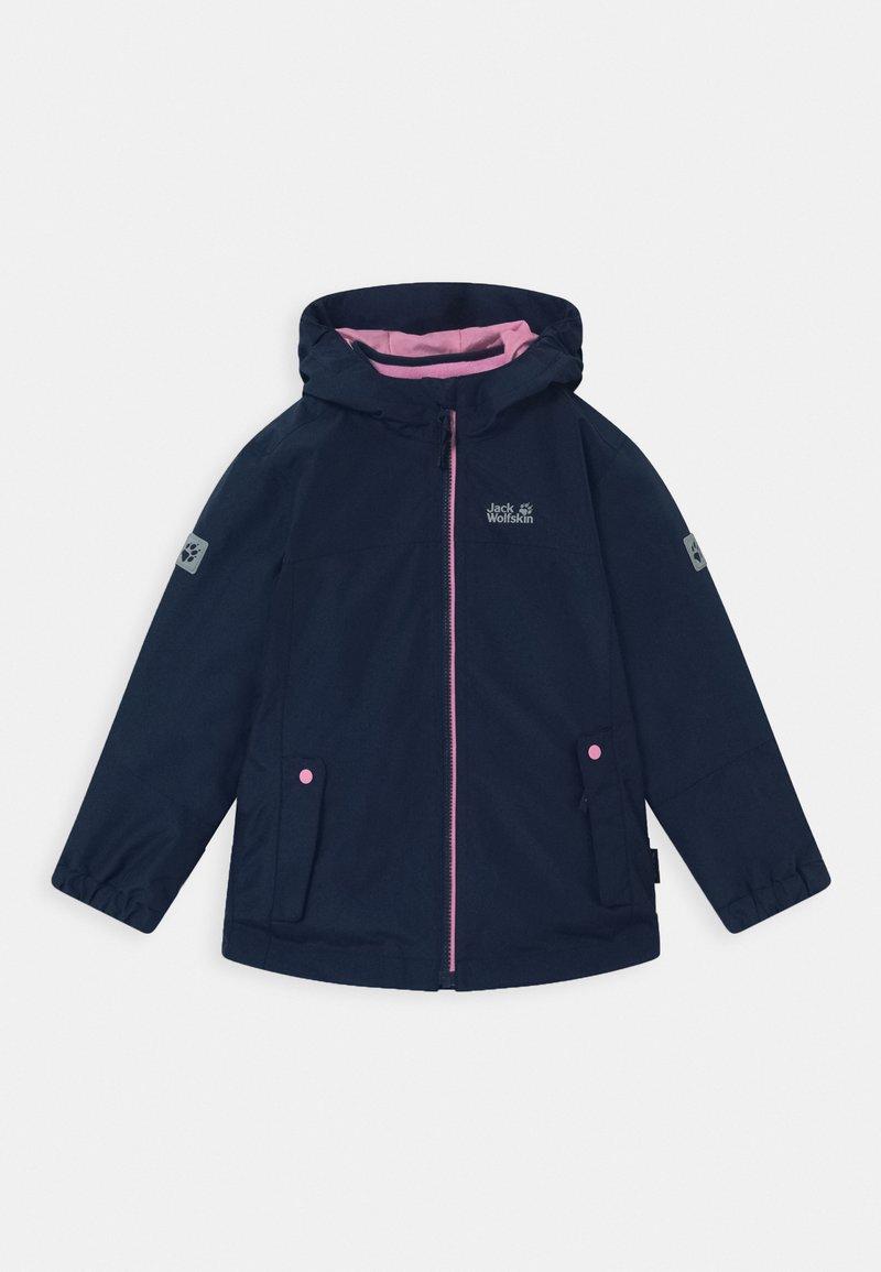 Jack Wolfskin - ICELAND 2-IN-1  - Outdoor jacket - midnight blue