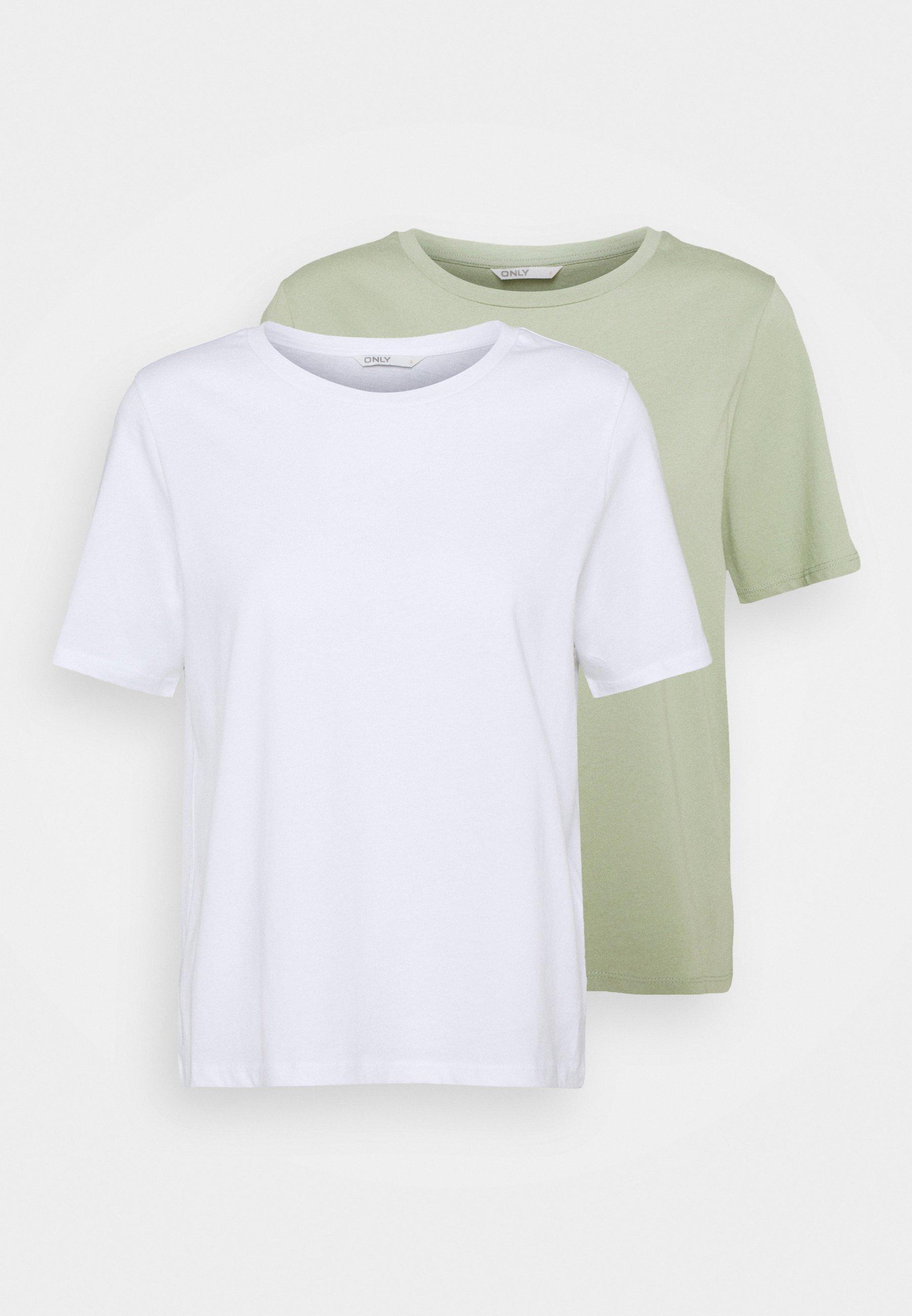 Women ONLONLY LIFE 2 PACK  - Print T-shirt