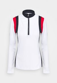 Daily Sports - WILONA HALF NECK - Long sleeved top - white - 0