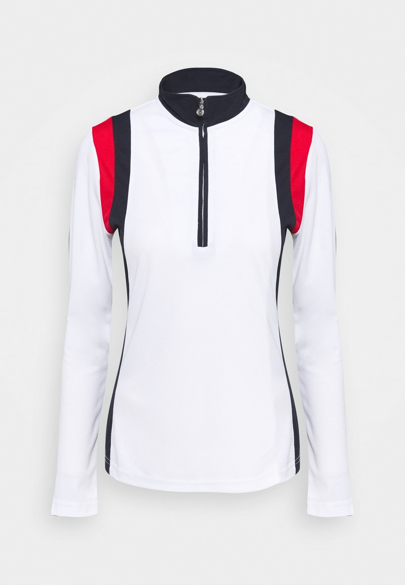 Daily Sports - WILONA HALF NECK - Long sleeved top - white