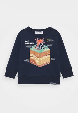 TODDLER BOY NATIONAL GEOGRAPHIC GEO CREW - Sweatshirt - tapestry navy
