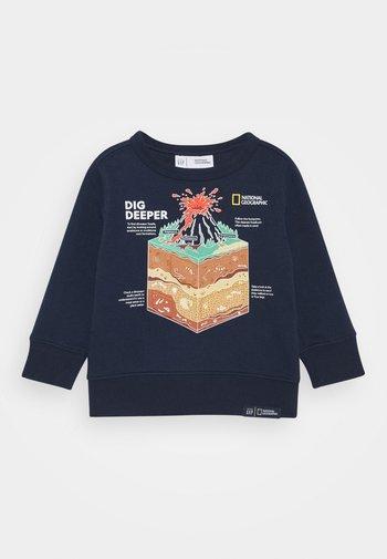 TODDLER BOY NATIONAL GEOGRAPHIC GEO CREW - Felpa - tapestry navy