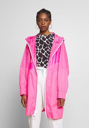 Abrigo - hyper pink/white