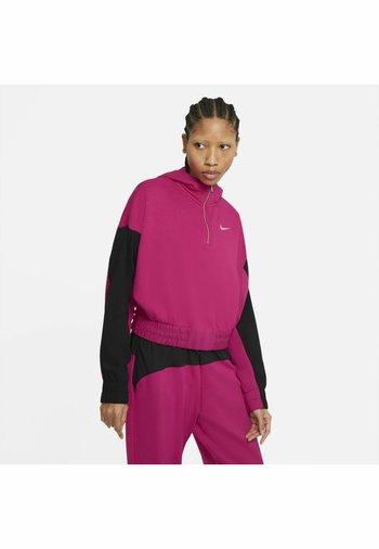HOODIE - Sweatshirt - fireberry/black/(white)