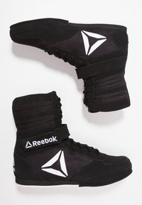 Reebok - BOXING BOOT BUCK - Sports shoes - black/white - 1