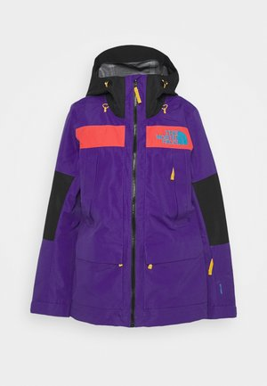 TEAM KIT JACKET - Chaqueta outdoor - purple/red/black