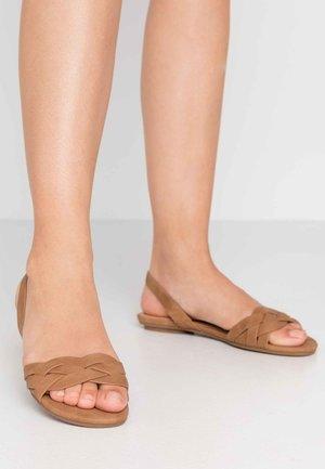 FIRELLA - Sandals - cognac