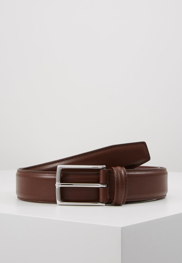 SMOOTH BELT SEAM - Belt - brown