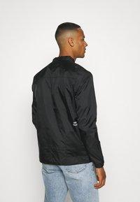 Denim Project - UTILITY - Summer jacket - black - 2