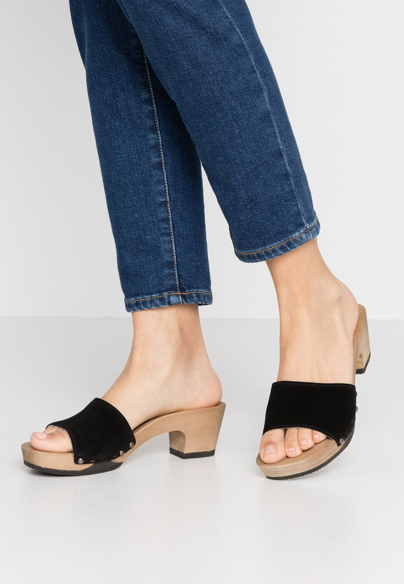 Softclox - KELLY - Clogs - schwarz
