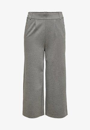 HOSE CULOTTE - Bukser - medium grey melange