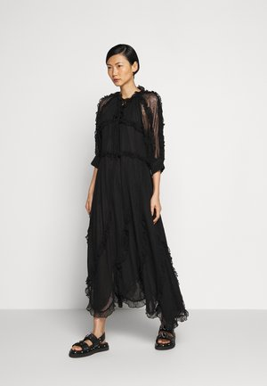 GRETA - Robe longue - black