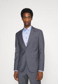 Tommy Hilfiger Tailored - FLEX SLIM FIT SUIT - Suit - grey - 0