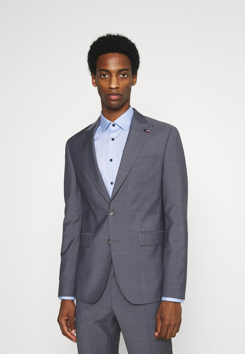 Tommy Hilfiger Tailored - FLEX SLIM FIT SUIT - Suit - grey
