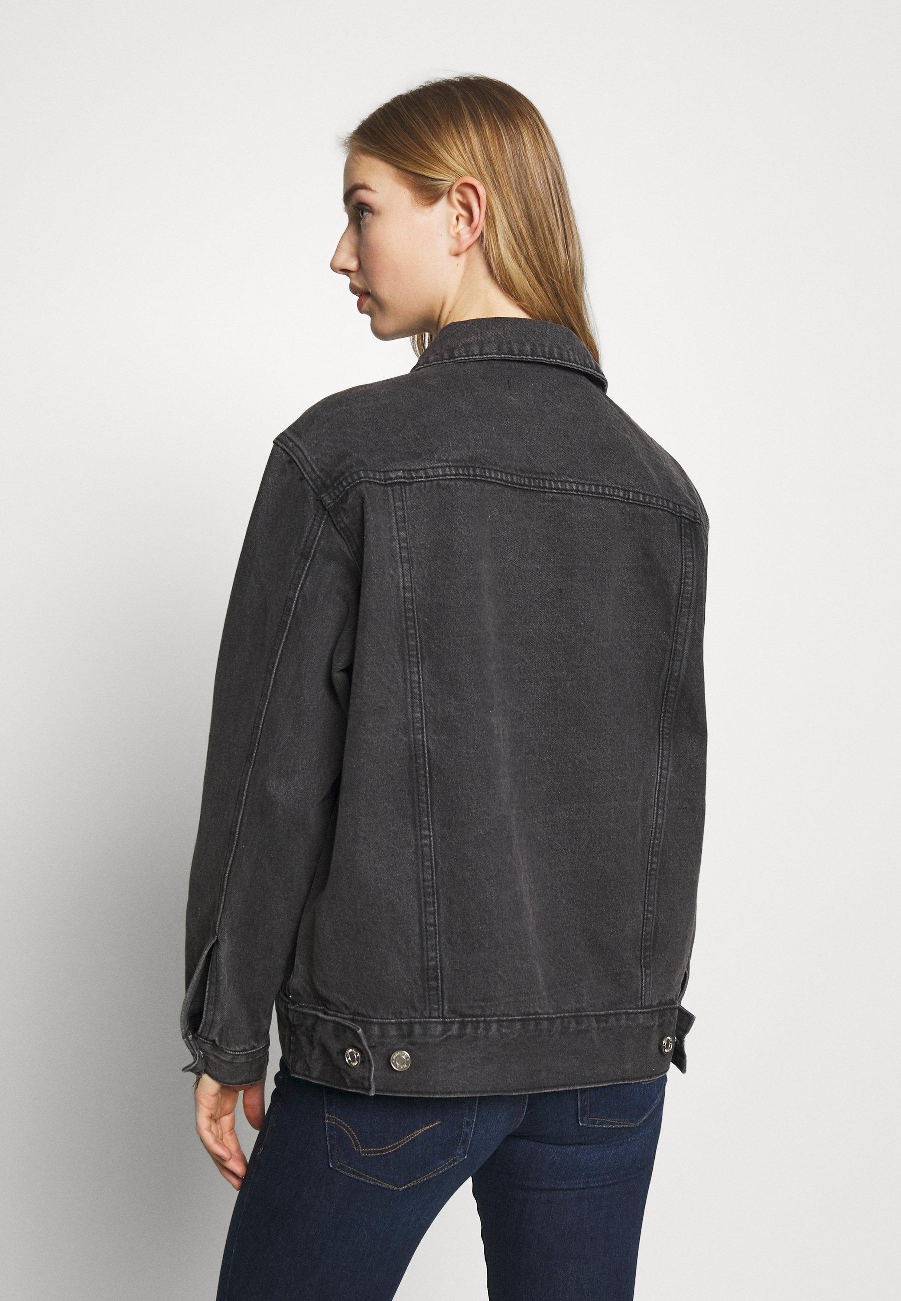 Women OVERSIZED JACKET - Denim jacket