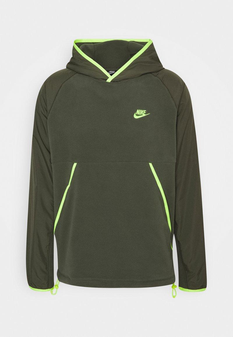 Nike Sportswear - HOODIE - Jersey con capucha - dark green