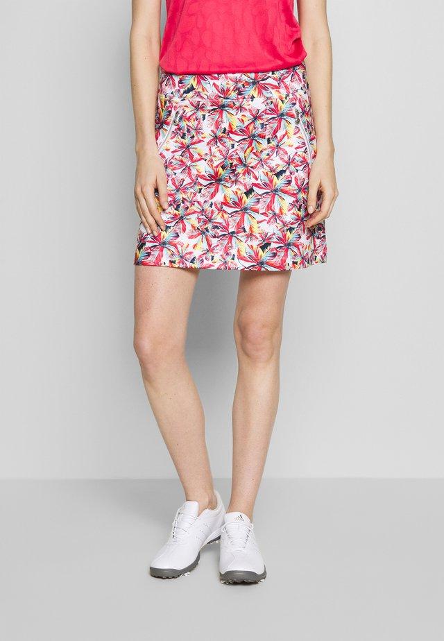 RICKIE SKORT - Sports skirt - sangria