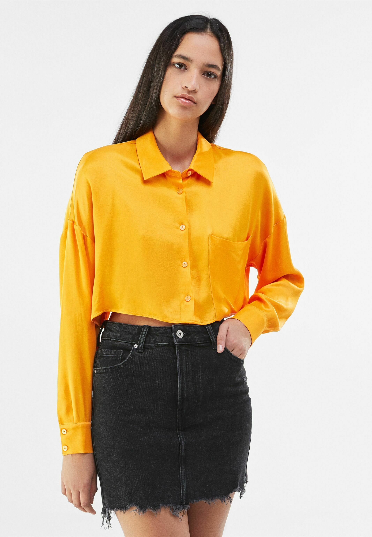 Femme HIGH WAIST - Jupe en jean