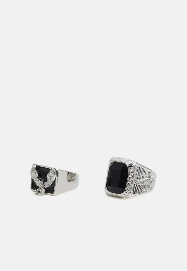 2 PACK - Ringar - silver-coloured