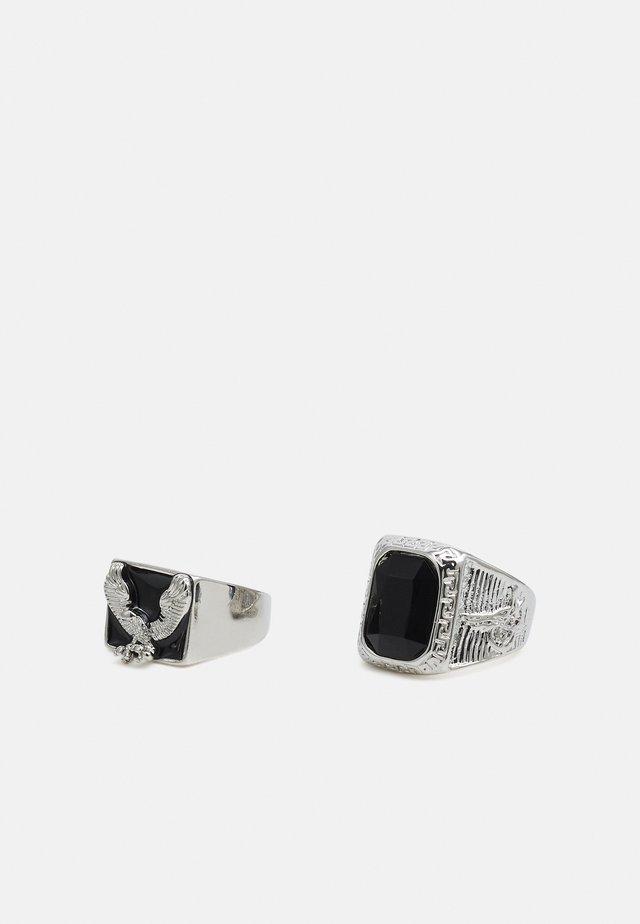 2 PACK - Prsten - silver-coloured
