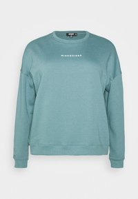 Missguided Plus - BASIC - Sweatshirt - blue - 4