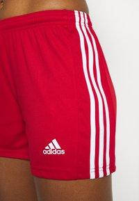 adidas Performance - SQUADRA - Sports shorts - team power red/white - 3