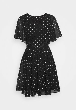 ELLA  - Day dress - black/white