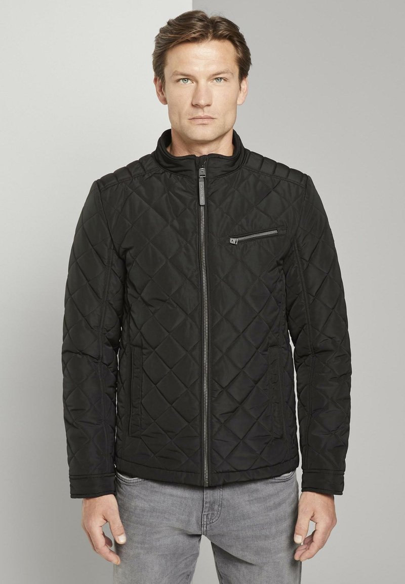 TOM TAILOR - Light jacket - black