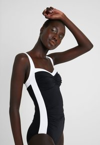 JETS Australia - BANDED - Swimsuit - black/white - 3