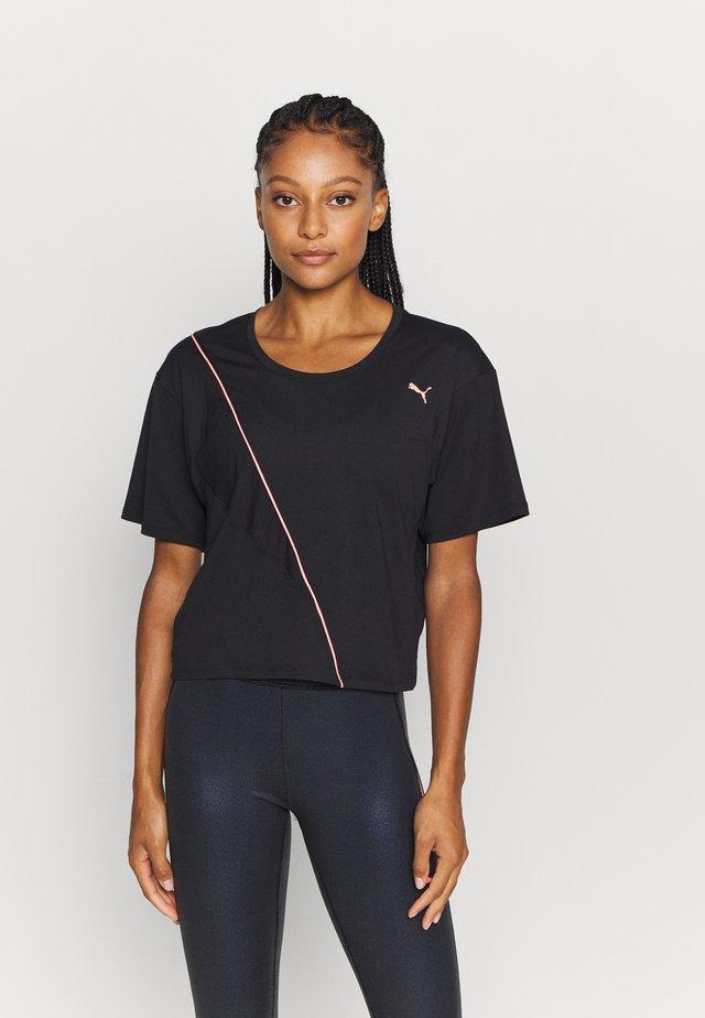 TRAIN PEARL TEE - Sportshirt - black