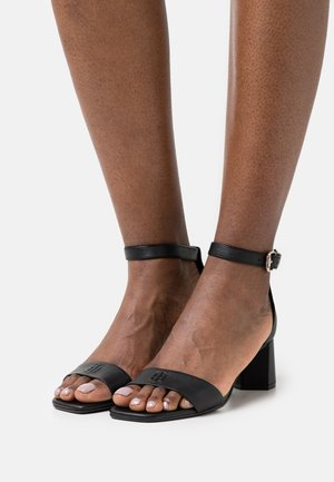 ESSENTIAL MID HEEL  - Sandals - black