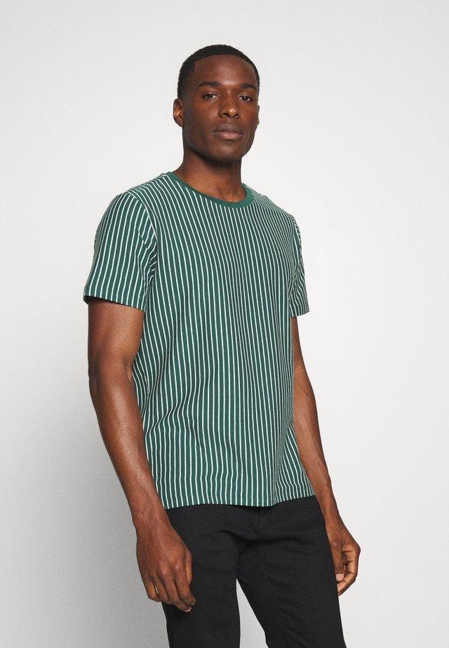 Print T-shirt - bistro green
