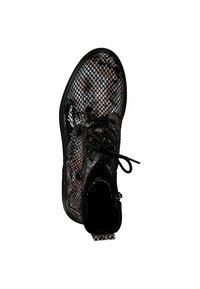 Tamaris - BOOTS - Lace-up ankle boots - snake comb - 1