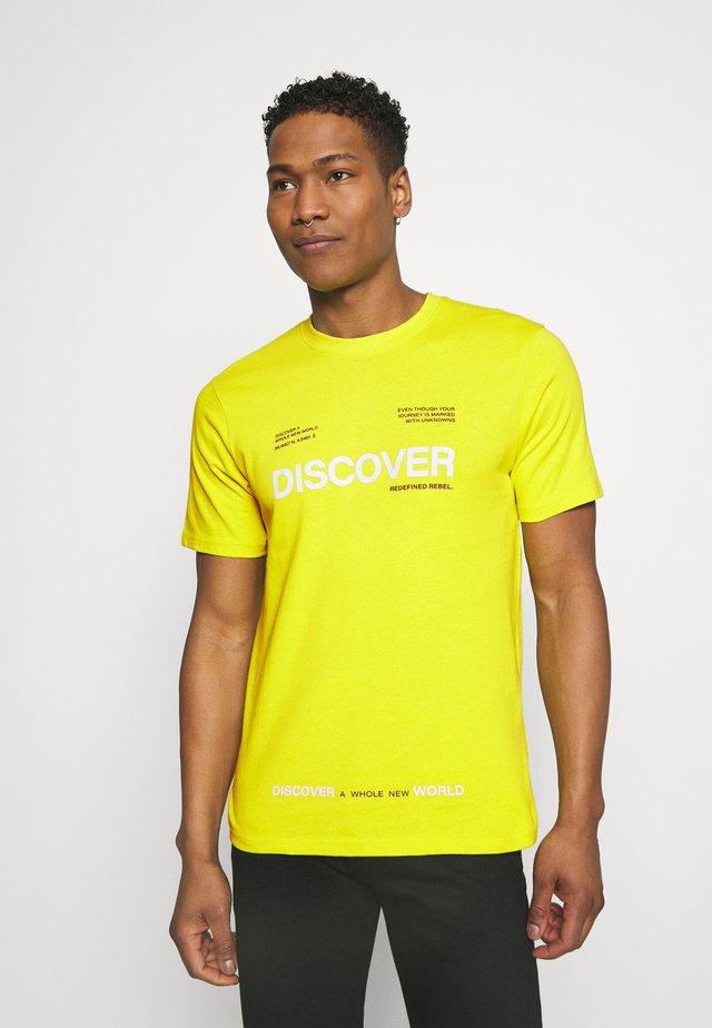 SONNY TEE - T-shirt con stampa - sulphur spring
