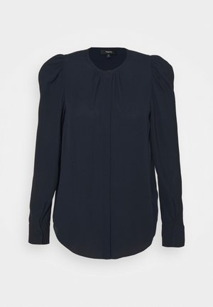 RUCHED BLOUSE - Blouse - navy ink