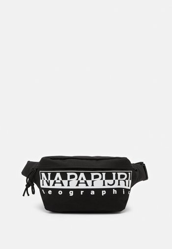 HAPPY WAIST BAG UNISEX - Bum bag - black