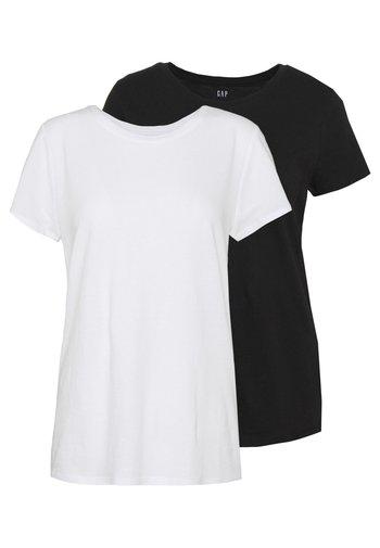 CREW 2 PACK - Camiseta básica - true black
