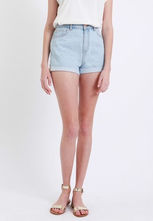 MOM - Denim shorts - hellblau