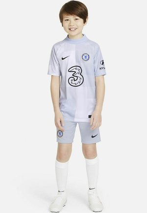 FOOTBALL - T-shirt print - ghost/ghost/black