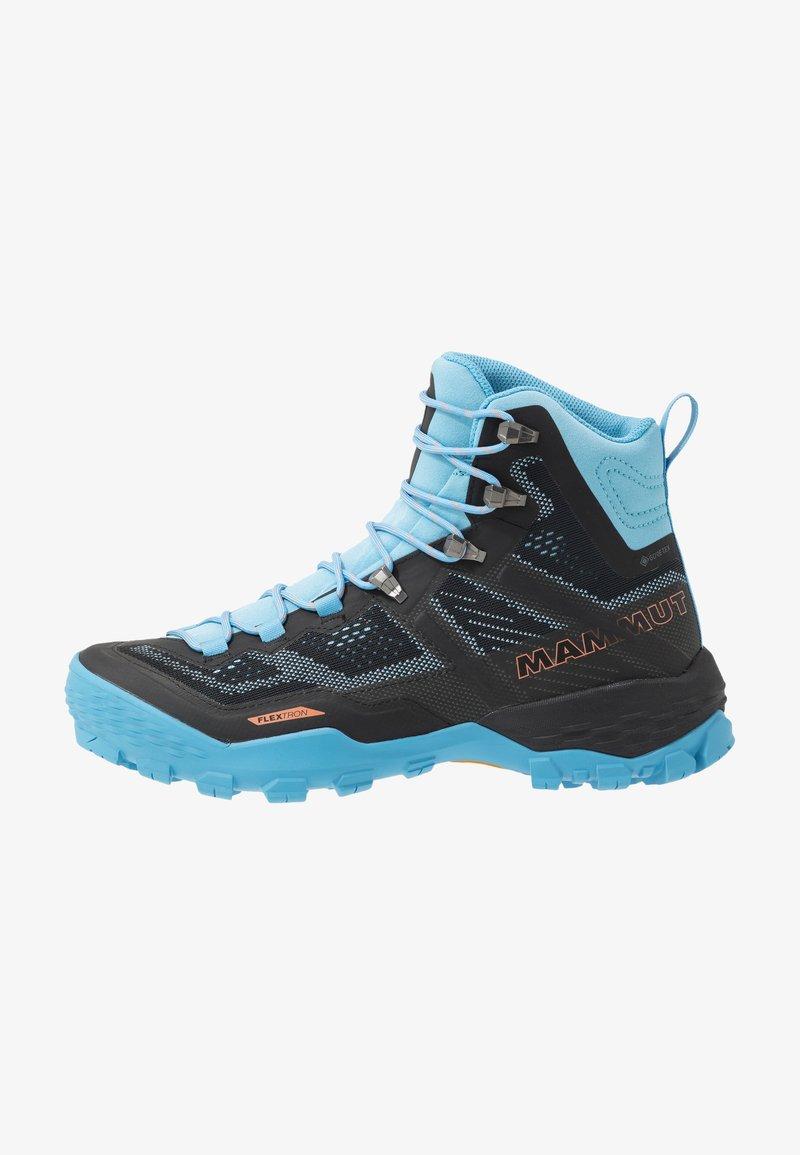 Mammut - DUCAN HIGH GTX WOMEN - Hiking shoes - black/whisper