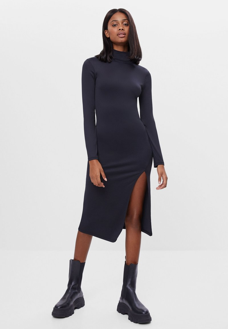 Bershka - Shift dress - black
